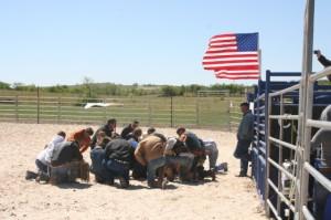 CTB TRAINING CAMP HOME GROUP PRAYER APRIL