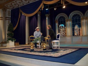 Scott being interviewed on TBN Sept 15 with Dewight Thompsonf